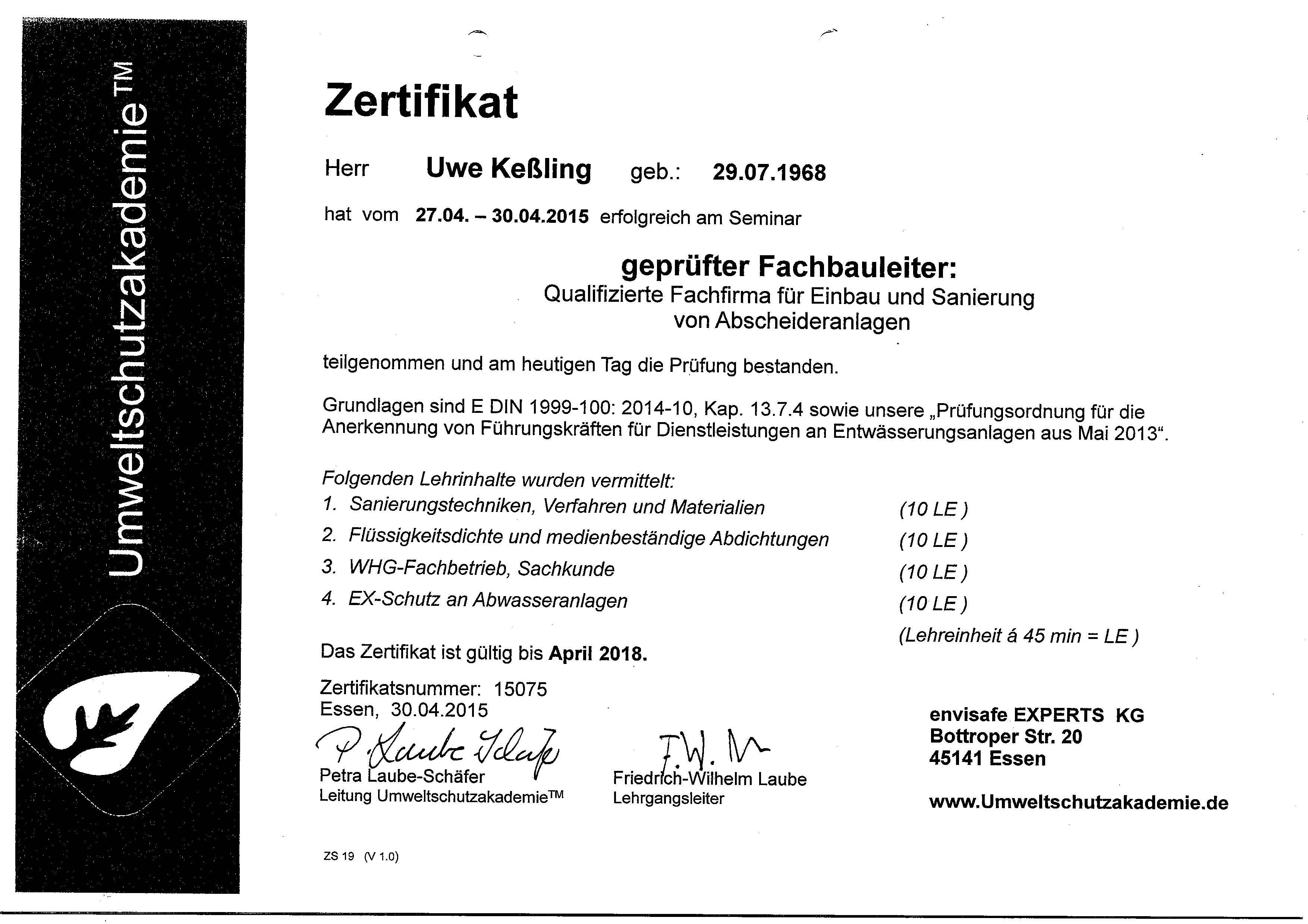 Großartig Zertifikate Für Exzellenzvorlagen Ideen - Entry Level ...